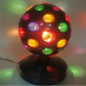 Lvd Emc Rohs 8 ''Disco Ball Party Light 33 Cm Roterende Crazy 5V 1.5W Usb Flash Led tafellamp Dj