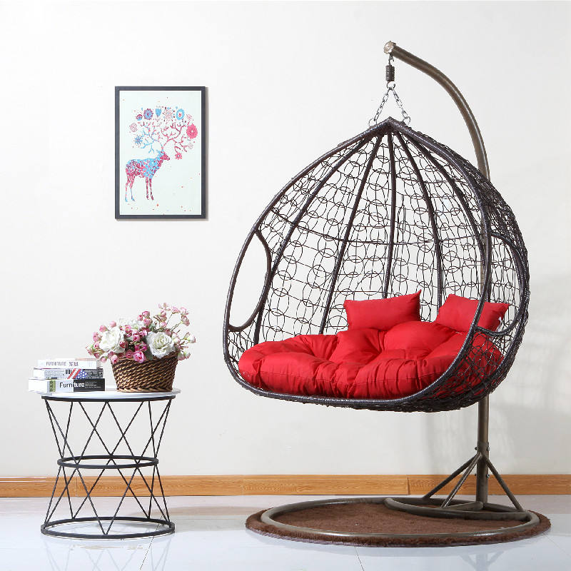 Hanging basket chair swing rocking adult lounger chair hammock cradle chair