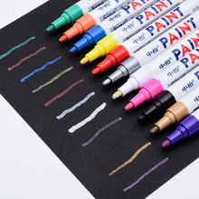 touch up paint pen for wood TOYO SA-101 metallic marker Scratch Pen Fix It Pro Non-toxic Permanent Markers Set
