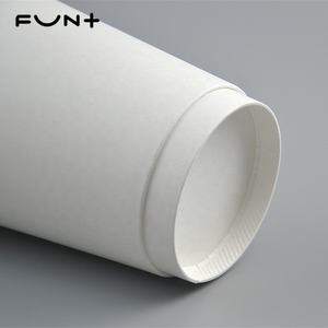 8oz white single wall paper cup customized printing logo biodegradable food grade for beverage or coffee