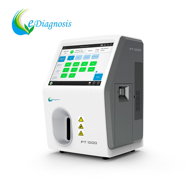 Blood Gas Analyzer Fully Automated Blood Gas Analyzer PT1000