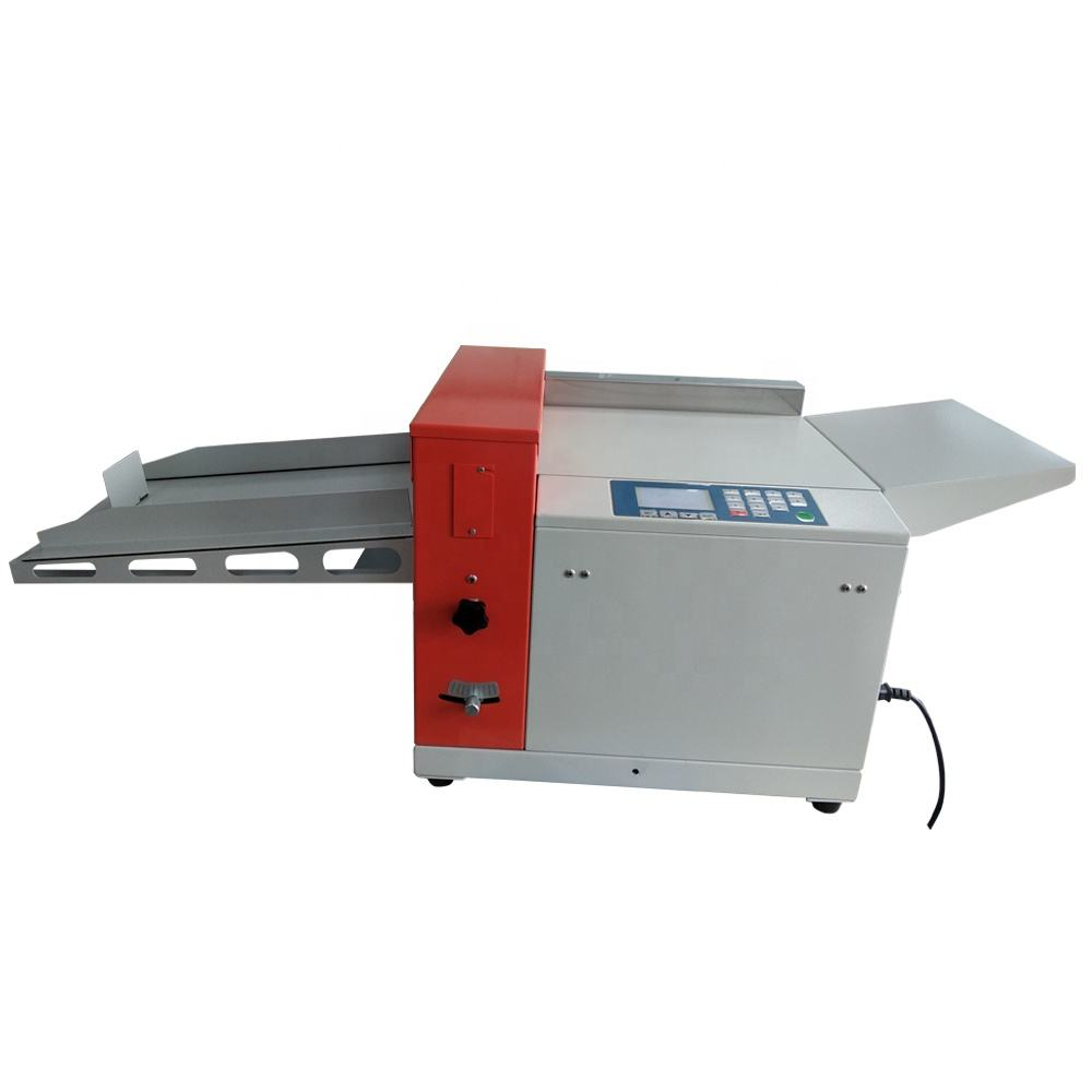 RD-350 A3 multi-function manual feeding paper digital paper creasing and perforating machine with high speed
