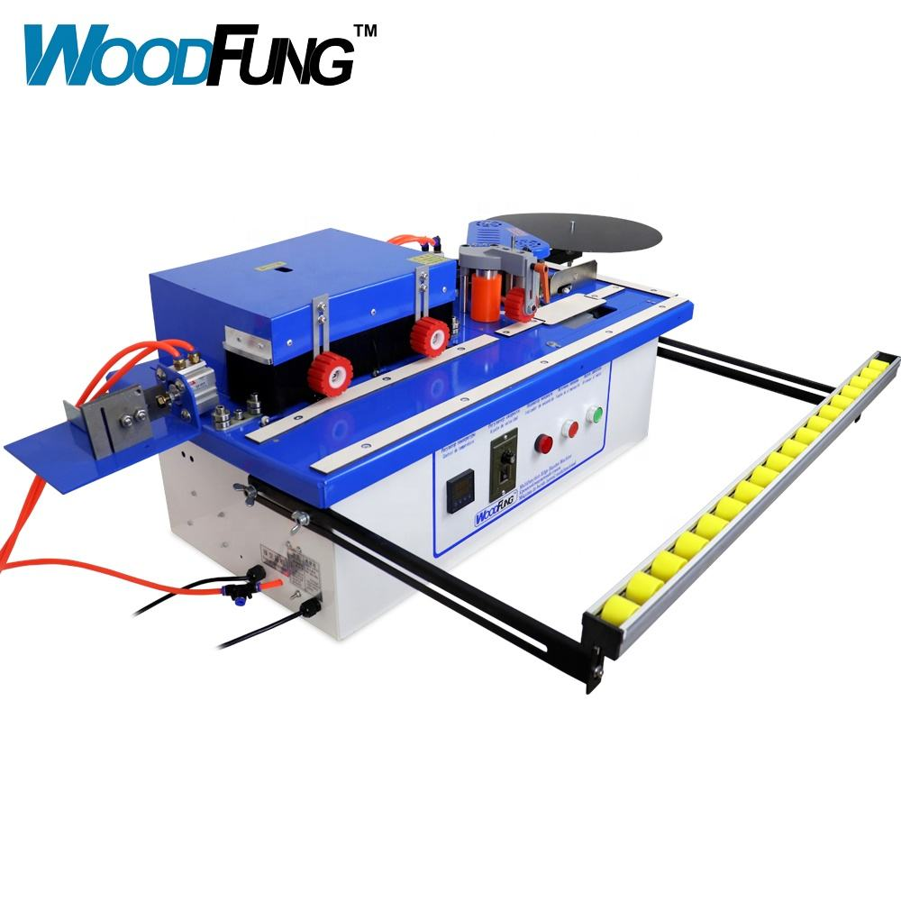 automatic trimming portable PVC/MDF edge banding machine
