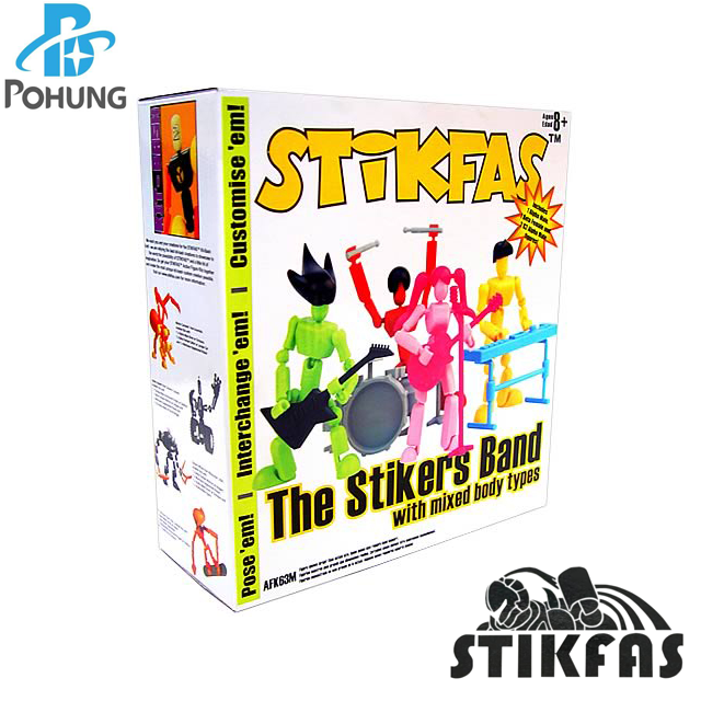 Stikfas AFK63M ABS/PVC plastic Collectible Action Figure