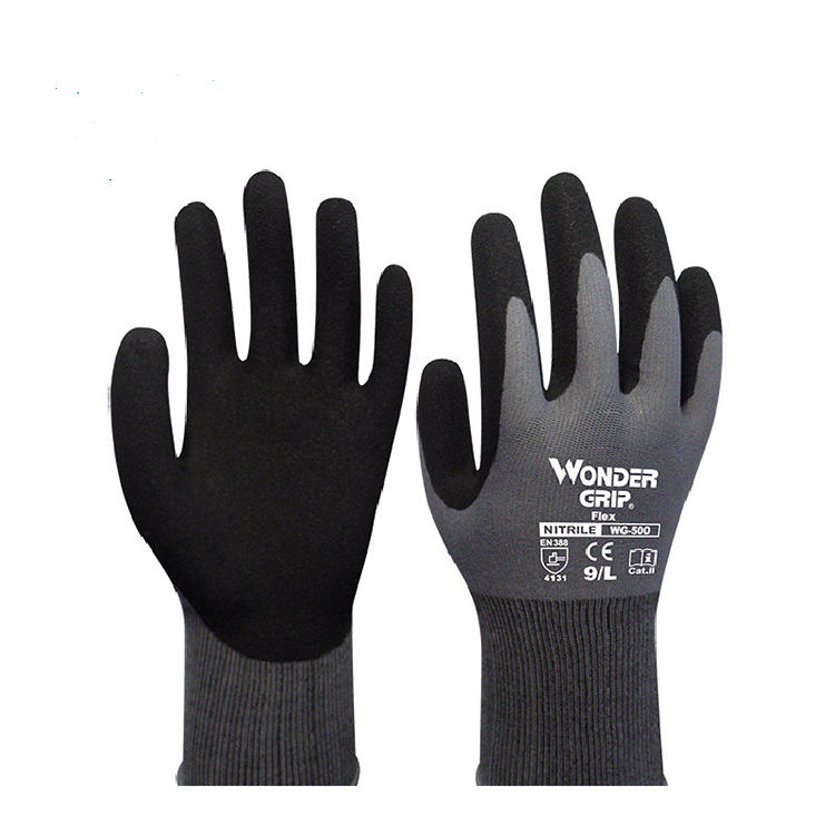 Home Gardening Gloved Anti-stab and non-slip rubber gloved Nitrile Coated Comfortable Breathable Gloved