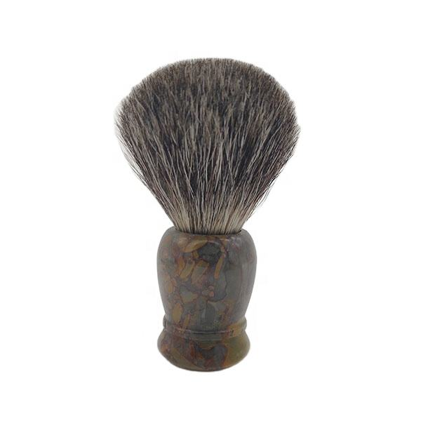 Mens Shaving Brush Gift 100% Pure Badger Hair High Grade Natural Marble Handle Hand Made Customization Accepted