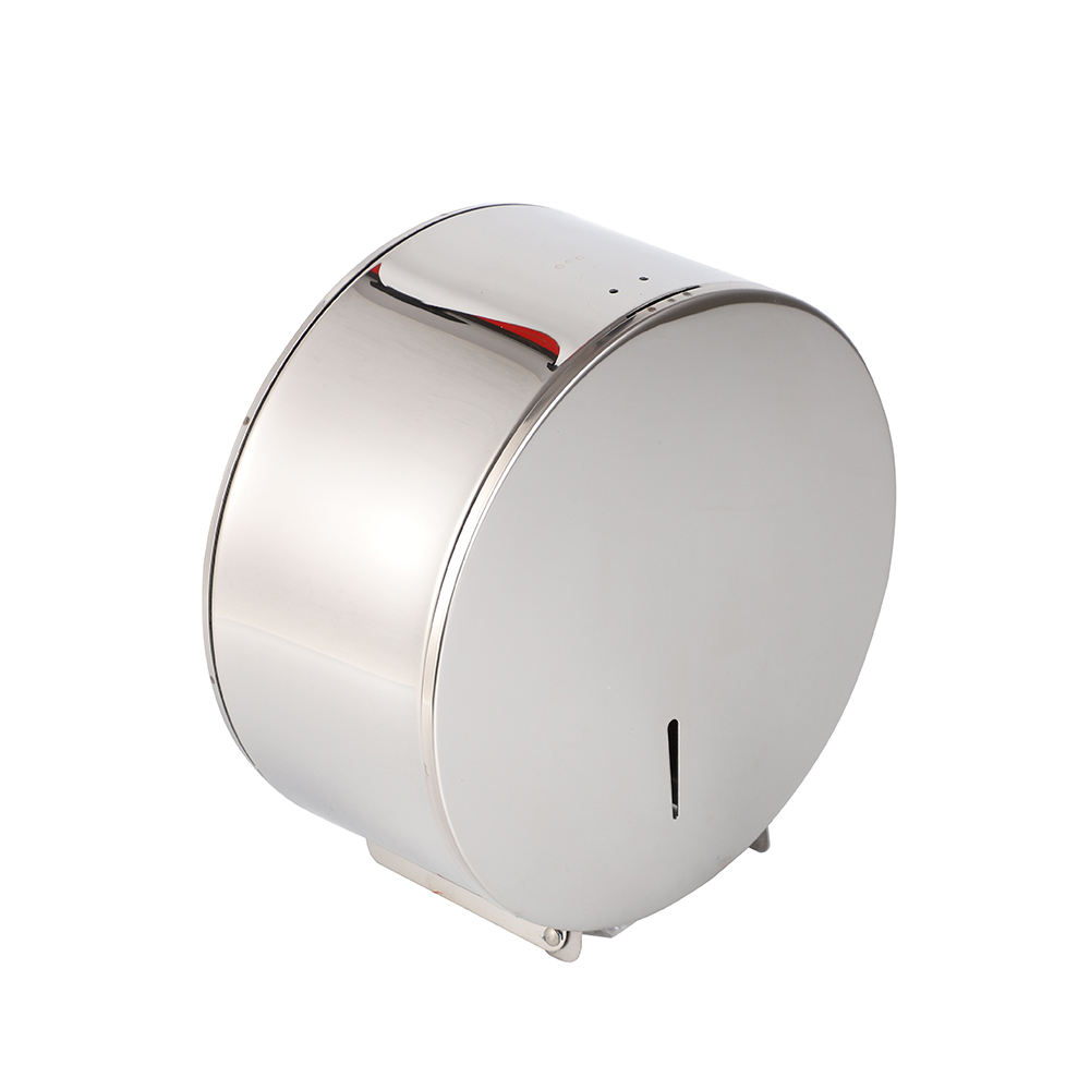 Stainless steel wall mounted sanitary toilet Jumbo paper roll dispenser