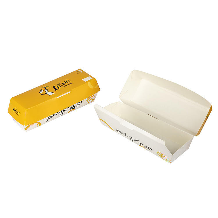 Cheap Price Creative Paper Packaging Food Grade Cardboard Fast Food Box