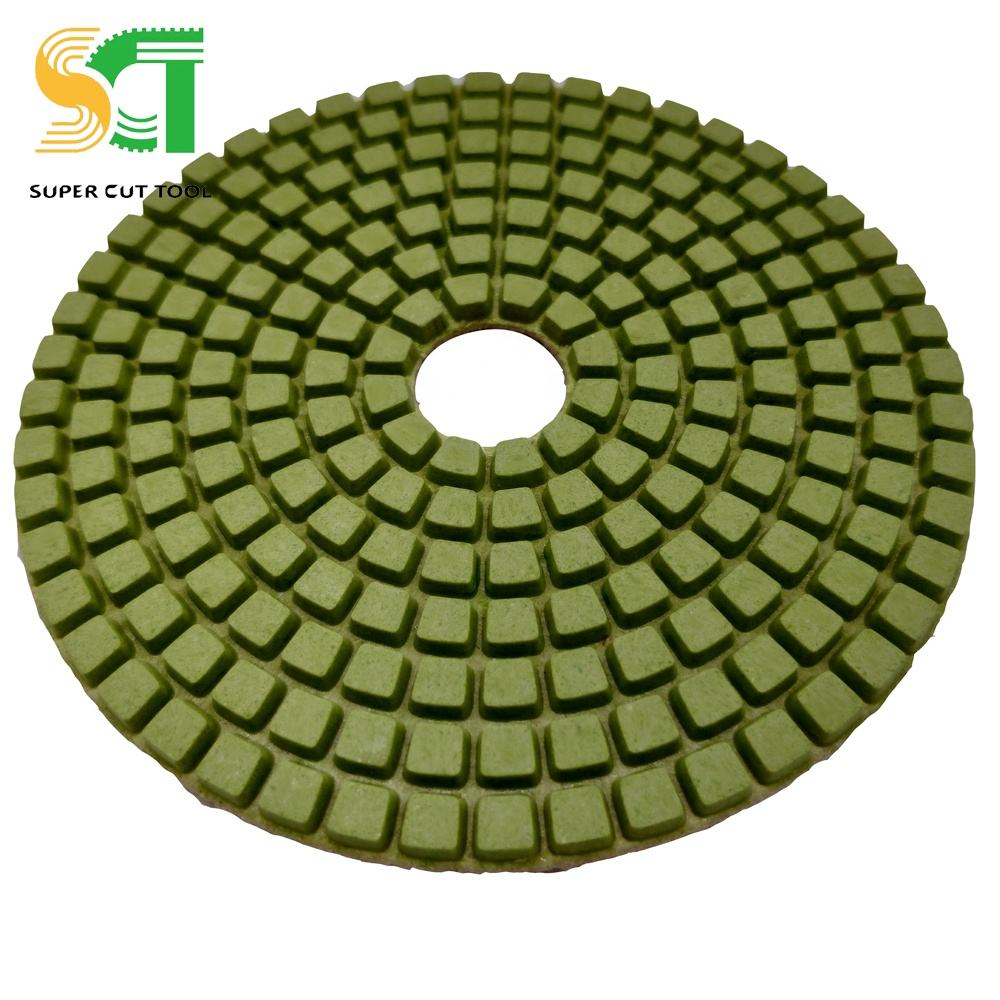 Wet 4 Step Anti-Rust Polishing Pad Pakistan For Stone Tile