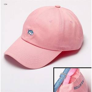 Wholesale High quality embroidery PINK baseball cap