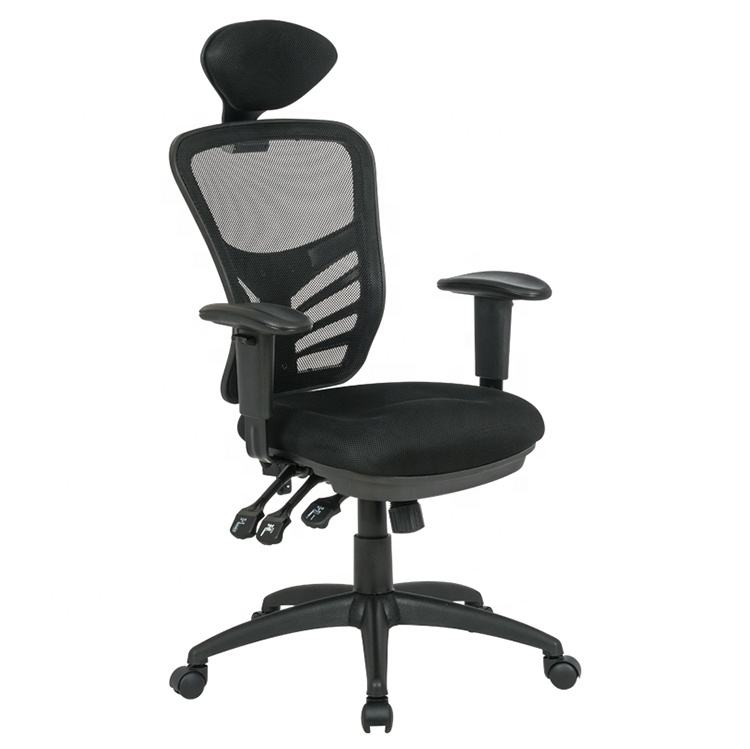 Back Height Adjustable Swivel Mesh Executive Office Chair