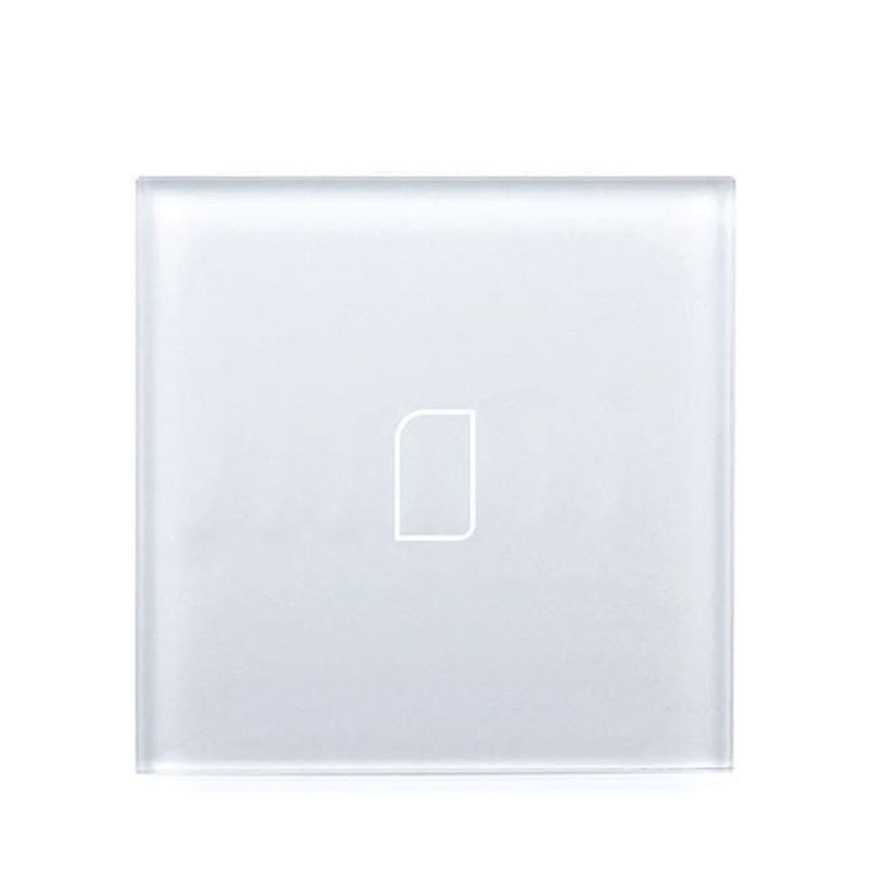 Low Price Electrical Outlet Covers Toughened Tempered Frosted Panel Socket Switch Glass