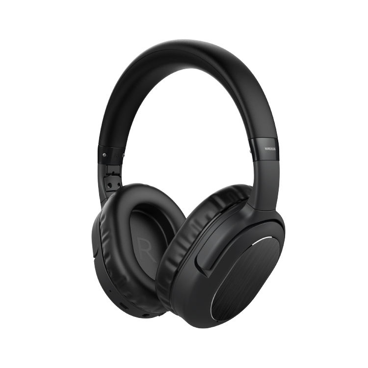 Besar China Pada Telinga Bluetooth Headphone Extra Bass Komputer Headset Headphone Aktif Kebisingan Membatalkan Earphone