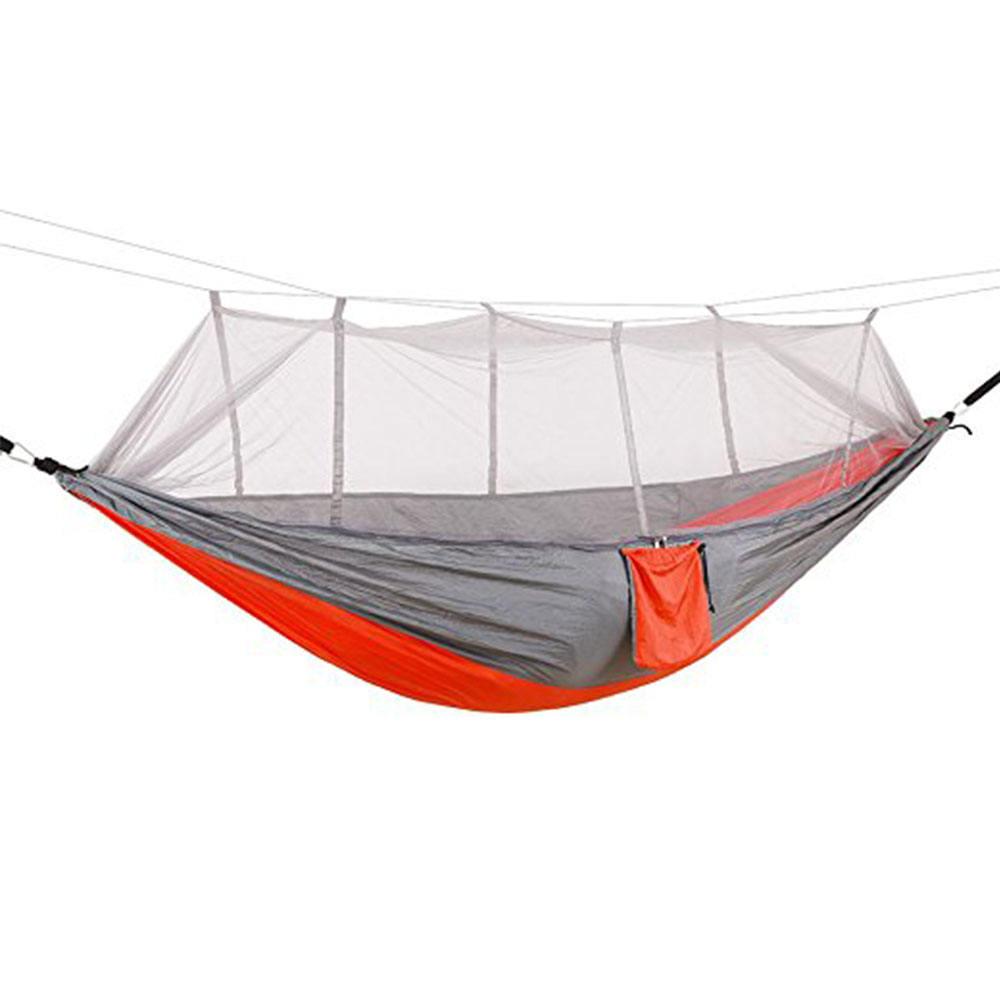Hamaca Doble Silla Colgante de Lona Hamaca abatible con Bolsa de Transporte para Dormitorio Jard/ín al Aire Libre Patio Trasero