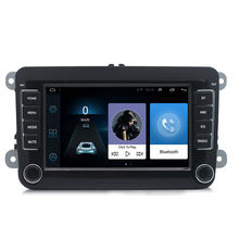 Android 8.1 Car Radio GPS Navi for universal Volkswagen bluetooth fm mirror link car navigation stereo