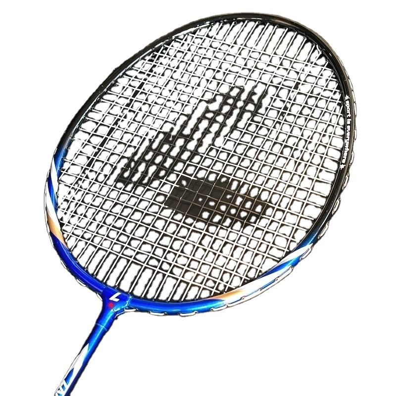 Custom high quality durable badminton rackets for tournament