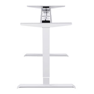 Ergonomic Steady structure stand and sit desk staff electric adjustable height desk