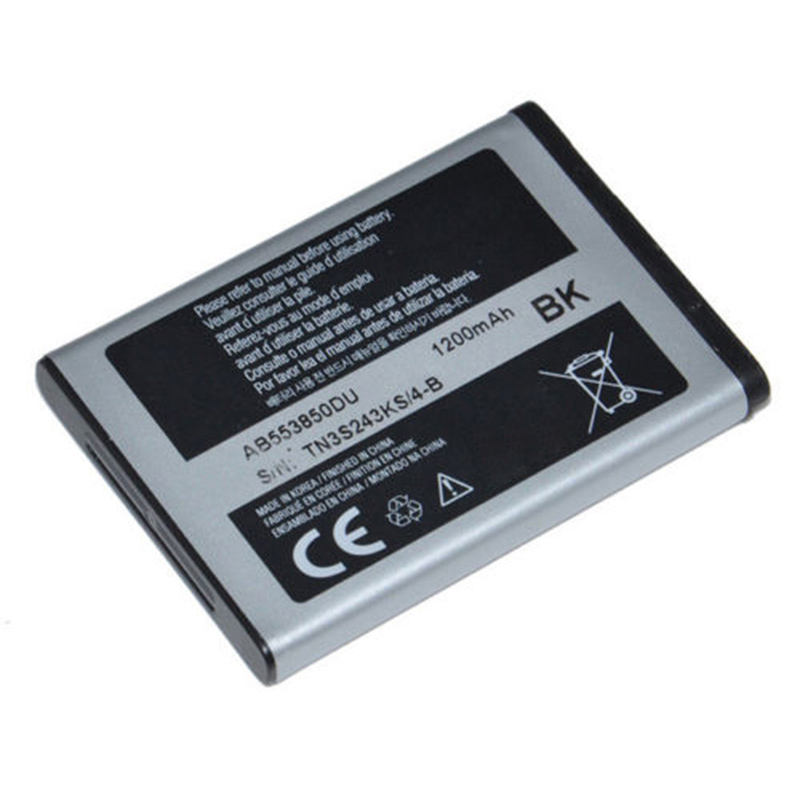 EXW price high quality AB553850DU Battery for Samsung B5702 D880 D888 D988 W599 W629 F480