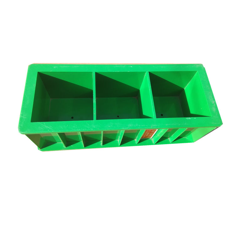 Customized Black or Green Concrete Cube Test Molds