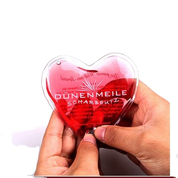 Heart shape gel handwarmer gift for Valentines Day and Christmas