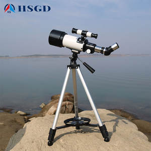 Amazon Hot Sell Refractor Christmas gift Hot sale 70400/40070 astronomical telescope with tripod for kids