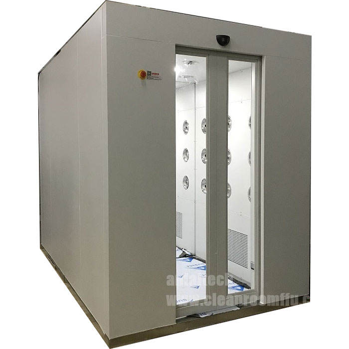 HEPA filter Air shower Automatically Cleanroom Air shower Door