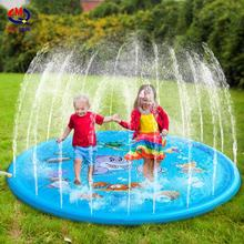 hot sale inflatable sprinkler play mat splash water baby pad play mat toys