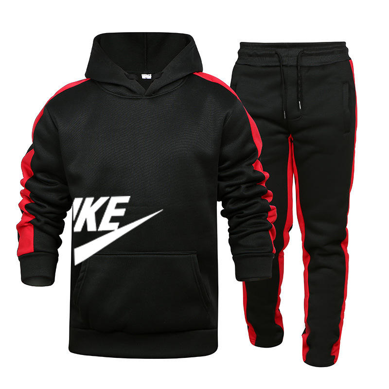high quality men winter clothes tracksuit latest fashion jogger set men two piece set wear clothing