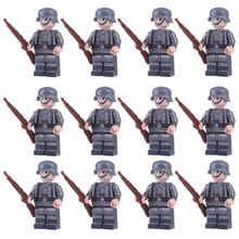 Military building block figures