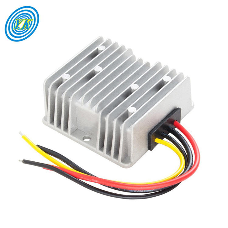 Waterproof Automatic 12V 10A DC Car Voltage Stabilizer 12VDC DC-DC Boost Converter Step Down Power Supply