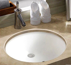 Oval 1613 Sanitary Wares White Porcelain Under Counter Bathroom Sinks Wash Basin Ceramic Undermount