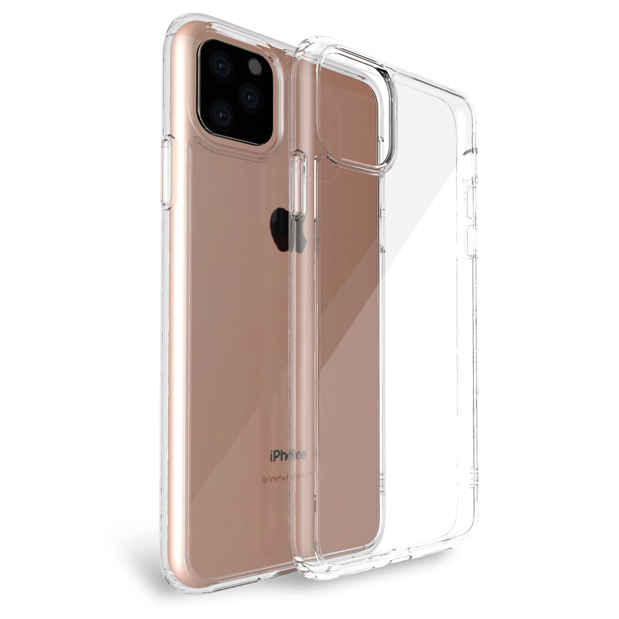 High Qualify Glass Clear Phone Case Cover Designers Blank Phone Case for IPhone 11,for Huawei Samsung