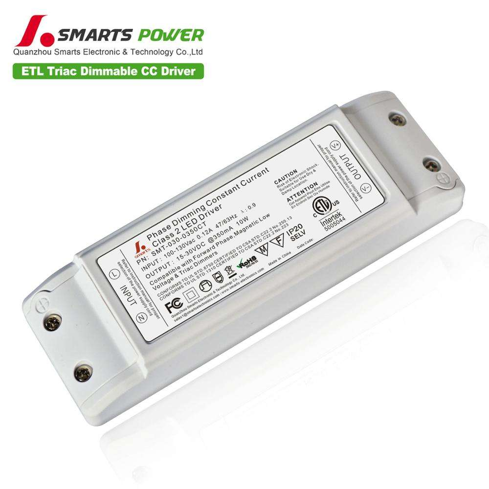 dimmable Constant Current Led Transformer 10W 350mA Panel Light Led Driver for Ceiling Lamp