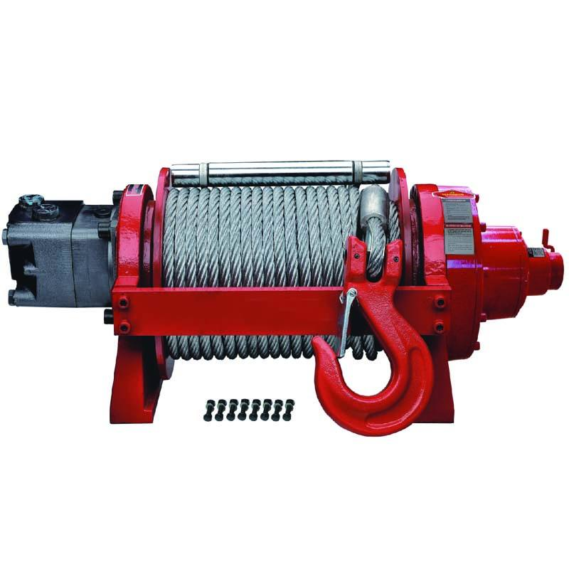 3T to 50T Continuous Duty Hydraulic Winch