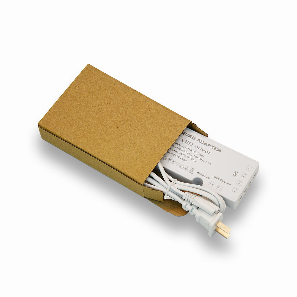 otm-e12-18w 100-240vac 2.0a input 12vac dc 2000ma24w ultrathin and DuPont terminal constant voltage power supply led driver