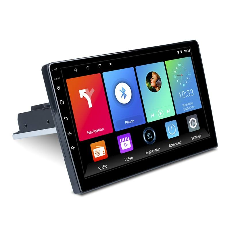 Neuankömmling 9 Zoll Android Auto DVD-Player Spiegel Link/Bluetooth/FM/Navigation & GPS 1 Din Android Auto DVD-Player