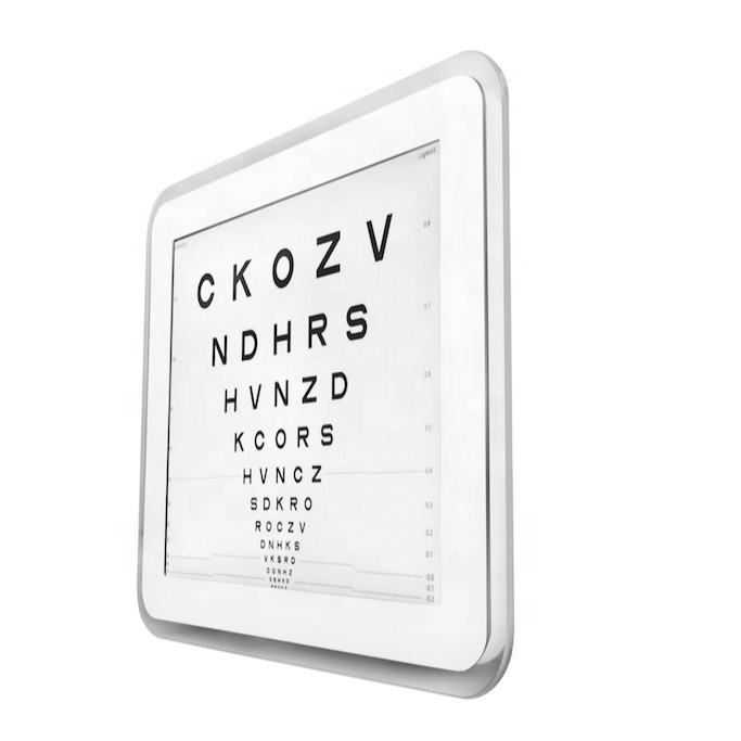 17 inch LCD screen Auto Visual Acuity Chart Examination Eye Vision Test Chart