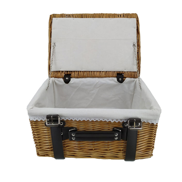 100% OFF Wholesaler Bulk Custom Size Cheap Willow Wicker Storage Baskets with Lining