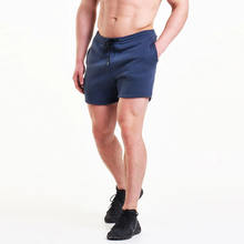 High quality mens plain jogger shorts mens cotton fleece shorts sweat wicking mens gym shorts