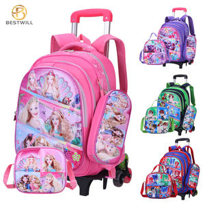 BESTWILL Hot-Sell 2020 high quality School Trolley Bag Kids School Bag Set Back to School Set with Bag