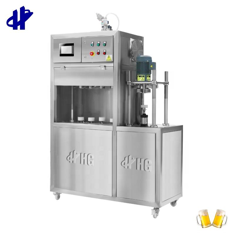 2020 Free Auto Sealing Beverage Equipment carbonated soft Drink Bottling Production Line Beer Can Filling Canning Machine