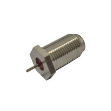 F Type female connector with Extended pin bnc