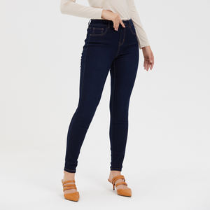 Leggings Tights Blue Fashion Tall Women Jeans 2020 Denim Clothing
