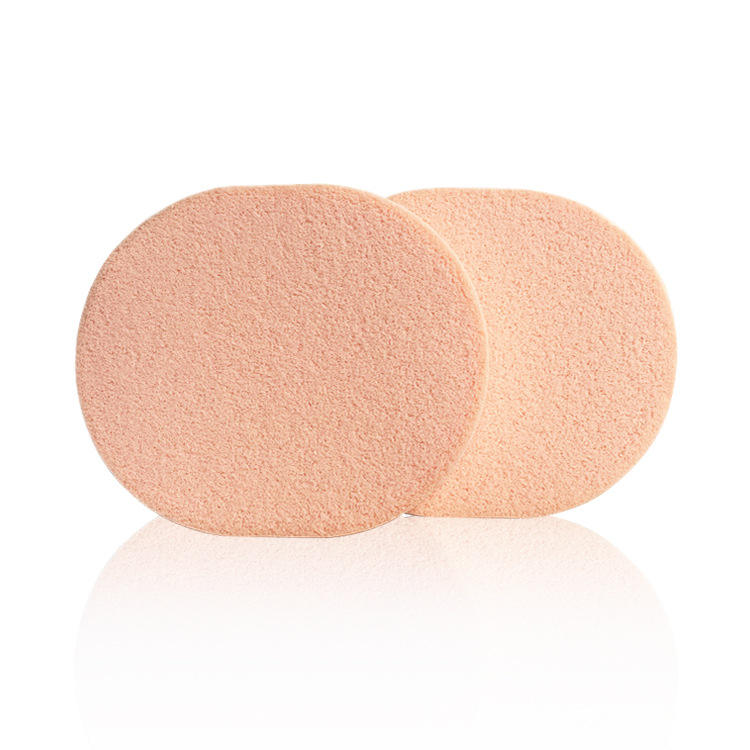 wet and dry oval flat soft beauty cosmetic makeup sponge foundation blender powder puff