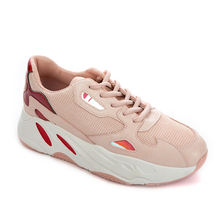 Wholesale leather women casual sepatu sneakers shoes for girls