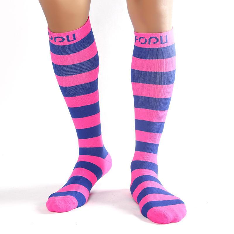 2020 Customized Good Quality Toe Sock Manufacturer Custom Sports Compression Socks Knee High Tube socks For Work