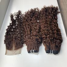 Super double drawn Pixie Curls Vietnamese Human Hair  100% Human Hair Extension Tangle Shedding Free