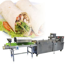 Factory supply commercial pizza crust/roti/ chapatti/ tortilla bread production line