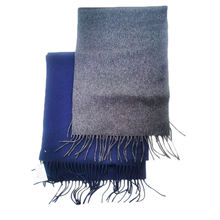 High Quality Classic Winter Style Fashion Men Double Faced 100% Cashmere Scarf