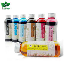 LSTPart-010 CMYK Lc Lm Br Color Edible Ink for Cake,Chocolate,Candy,Coffee,Macarons,Marshmallow Printer Printing